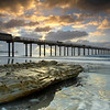 The Light Behind the Pier - Scripps Pier, La Jolla, California